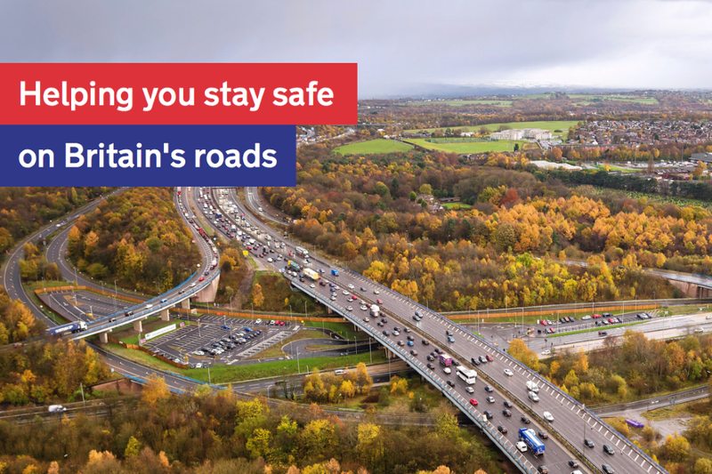 DSVA Promotional Image: Helping you stay safe on Britain's roads